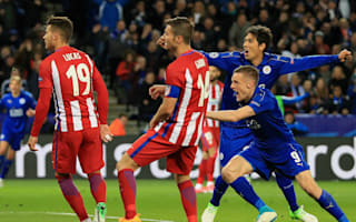 Leicester left it all out on the pitch - Vardy