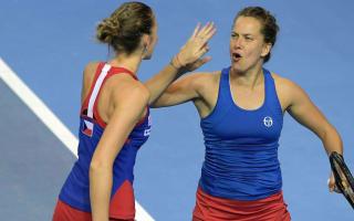 Strycova stars as Czechs retain Fed Cup once again