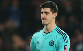 Courtois not getting carried away over Chelsea form