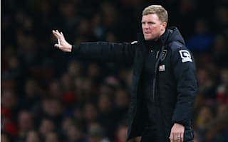 Howe praises Arsenal class as Bournemouth run ends