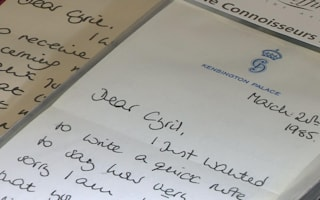 Diana letters about William and Harry to be sold at auction