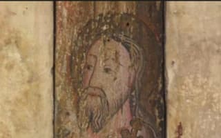 Shakespeare's Schoolroom: medieval wall painting uncovered