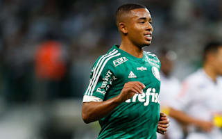 My intention is to stay at Palmeiras, insists Gabriel Jesus