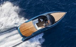 Aston Martin reveals AM37 powerboat at Monaco Yacht Show