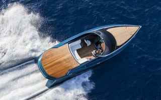 Aston Martin reveals AM37 powerboat at Monaco Yacht Show