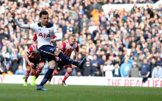 Tottenham 2 Southampton 1: Spurs march on without injured Kane