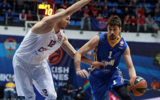 Shved heroics see Khimki past CKSA, Olympiacos sink Barcelona