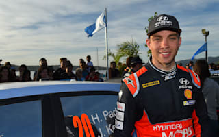 Paddon holds off Ogier to claim maiden WRC triumph