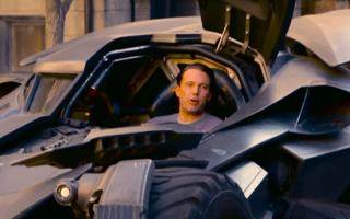 Ben Affleck surprises fans in all-new Batmobile