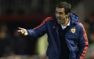 Negredo: Neville arrived in Valencia's worst moment