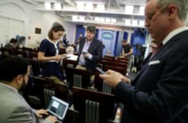 Plusieurs médias privés de briefing à la Maison Blanche
