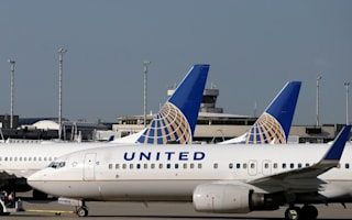 United Airlines flight makes emergency landing when engine catches fire