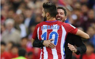 Simeone hails hat-trick hero Carrasco