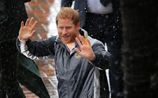 Downpour Down Under as Harry arrives for 2018 Invictus Games launch in Sydney