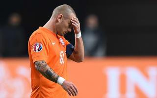 Netherlands captain Sneijder rues Greece defeat
