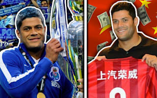 Tevez, Hulk and Witsel star in the Footballers Who Sold Out XI