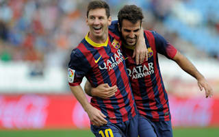 Barca the only club for Messi - Fabregas