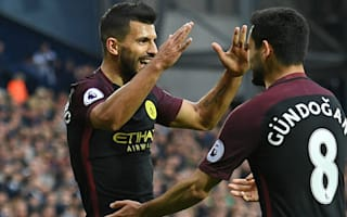 West Brom 0 Manchester City 4: Aguero and Gundogan at the double to end City slump