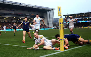 Exeter pull level with Sarries after Worcester rout