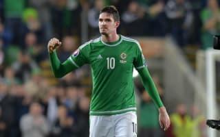 Northern Ireland striker Lafferty joins Birmingham on loan
