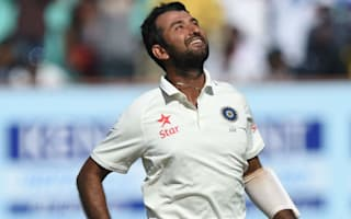 Pujara and Vijay star before late wickets give England hope