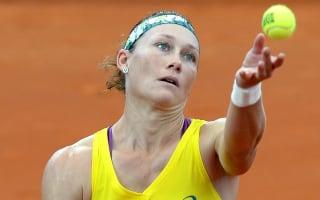 Stosur set for Safarova showdown after Kuznetsova withdrawal