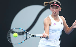 Mertens eases past Niculescu in Hobart final