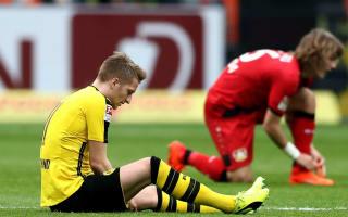 Injury-plagued Reus to miss Dortmund's Benfica clash