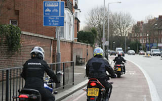 Motorbikes to be allowed to continue to use bus lanes