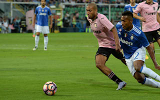 Palermo 0 Juventus 1: Own goal helps champions stay top