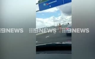 Naked man tackled to ground after Sydney Airport streak