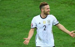 Germany 2 Ukraine 0: Mustafi and Schweinsteiger give world champions winning start