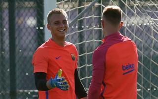 Cillessen in line for Barcelona debut after ter Stegen injury