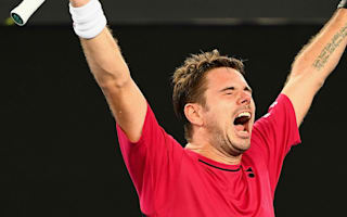 Wawrinka speaks of 'big relief' after first-round scare