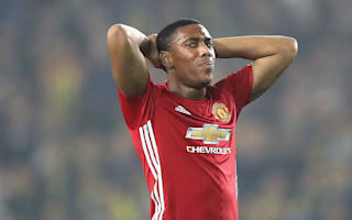 Martial frustrated with Manchester United role