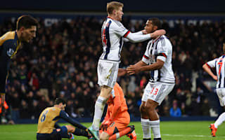 West Brom 2 Arsenal 1: Cazorla penalty miss costs Wenger's men
