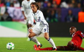 Suker lauds Modric as world's finest midfielder