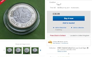 New 12-sided £1 up on eBay - but are they legal to buy and sell?