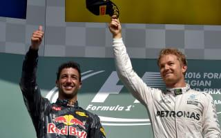 Ricciardo reveals Rosberg 'shoey'