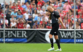 Robben scores and sustains injury on Ancelotti´s Bayern debut