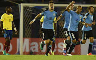Uruguay 2 Ecuador 1: Coates and Rolan lift hosts