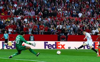 Sevilla 3 Shakhtar Donetsk 1 (5-3 agg): Gameiro brace books holders' third straight final