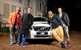 Volvo feels what JLS is feeling and donates cars to latest music video