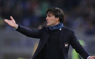 Montella demands something different from struggling Sampdoria