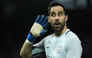 He is one of the greatest - Zabaleta tells Manchester City fans to back Bravo
