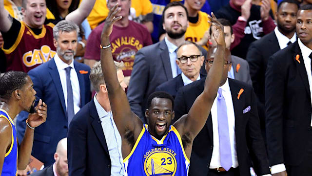 Warriors' Green stays in Game 4 after technical foul fiasco
