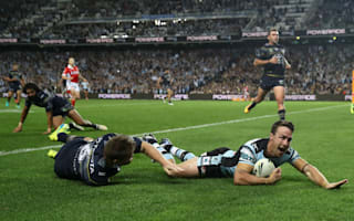 Maloney double sends Sharks into Grand Final