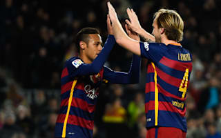 Barcelona v Celta Vigo: Rakitic only has eyes for trophies amid record-breaking run