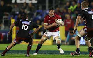 Lions captain Warburton pleased with nervy Barbarians victory