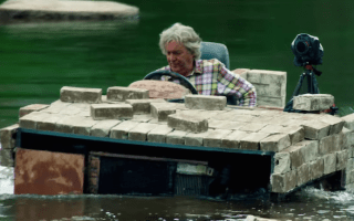 Clarkson and co go 'enviro-mental' in latest Grand Tour trailer